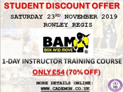 Mick Monckton: BAM Instructor Training Course - 1 Day