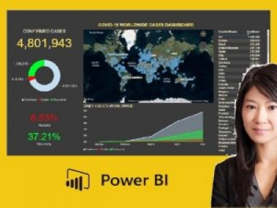 Power BI Essentials: Build & Share a Dashboard for COVID-19