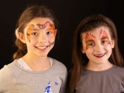 Carrie Hughes: professional face and body painting workshops