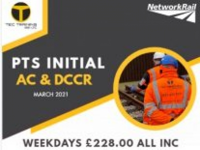 Personal Track Safety Initial Practical Course – (AC + DCCR)