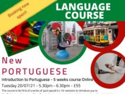 Introduction to Portuguese – Beginners Online via MSTeams